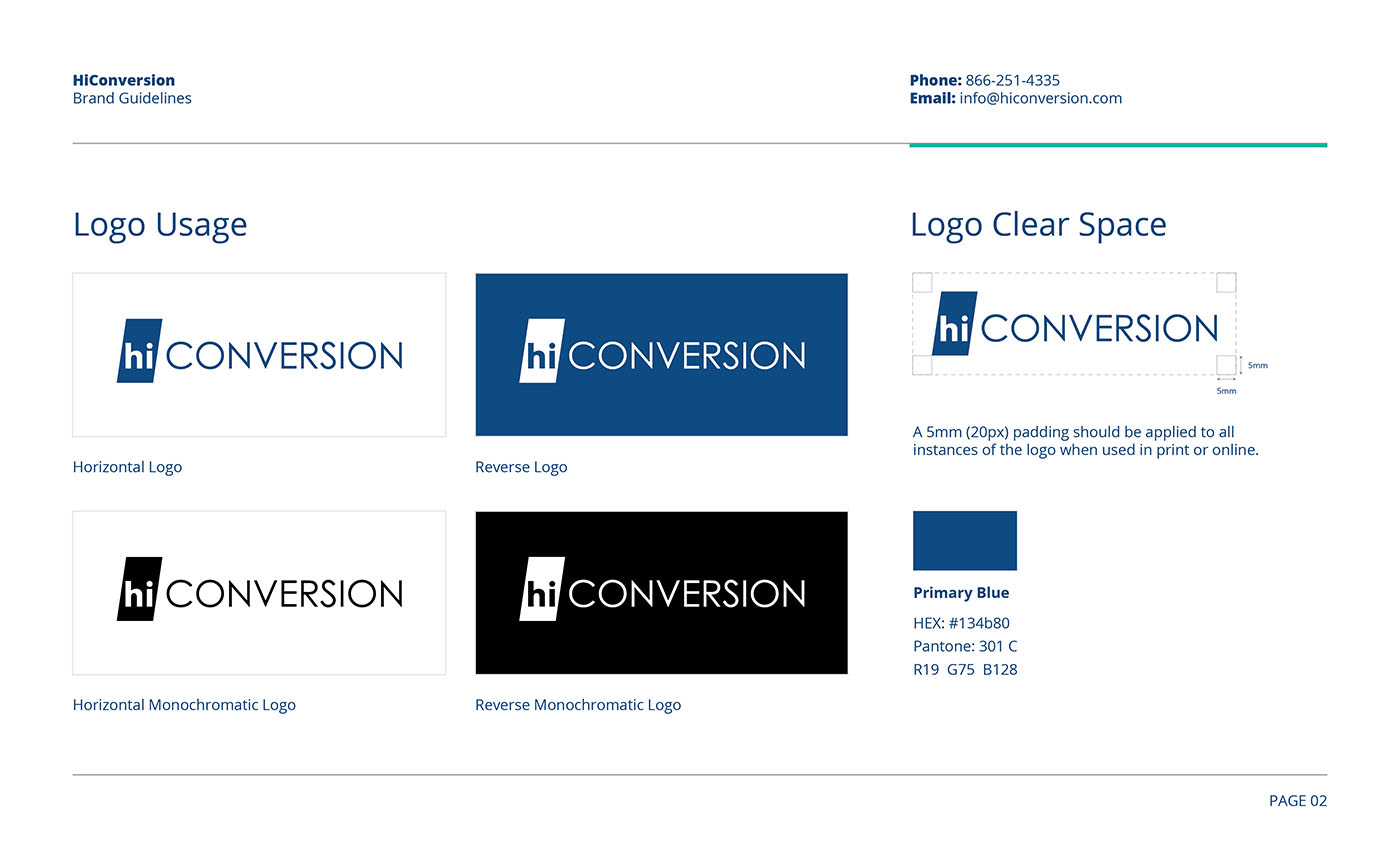 Hi Conversion Branding