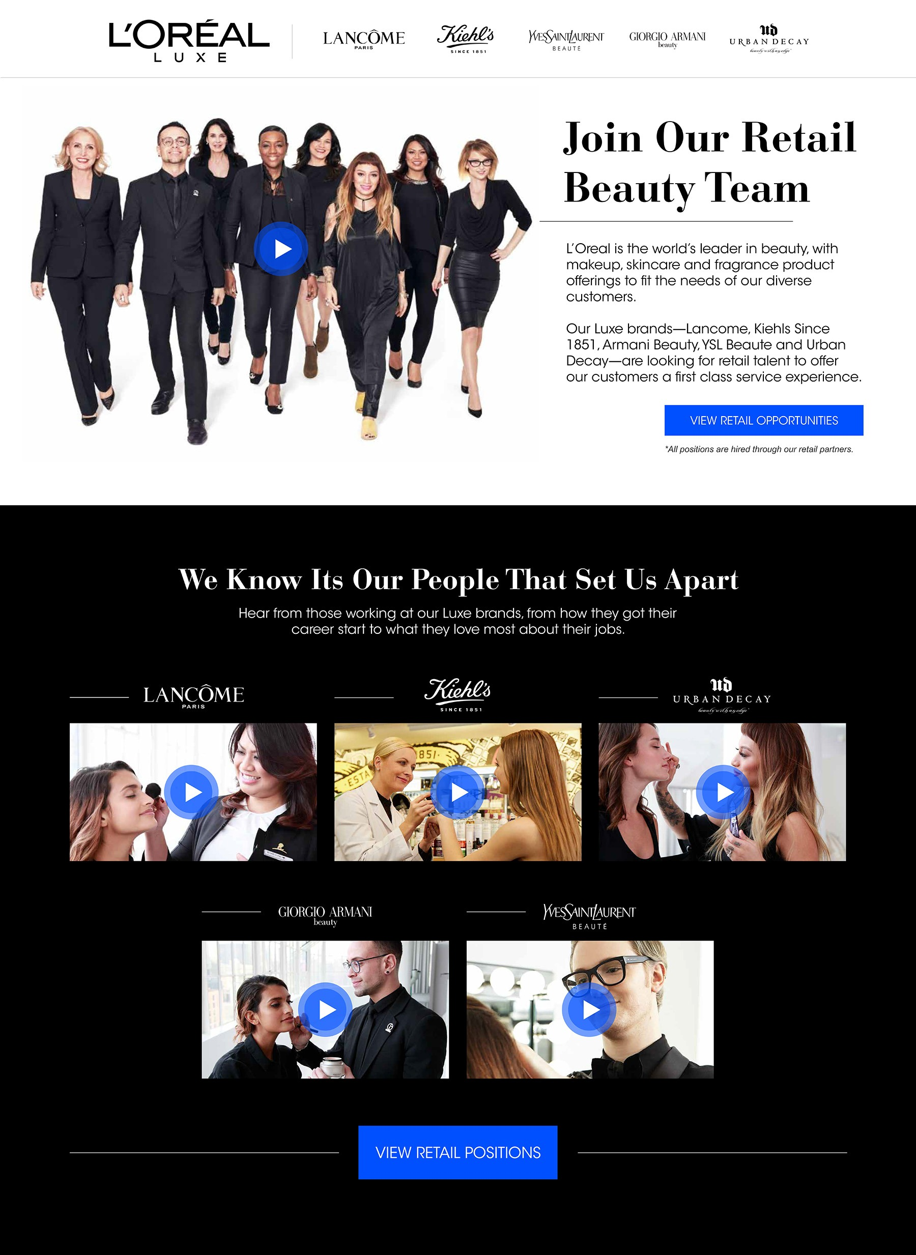 loreal luxe careers