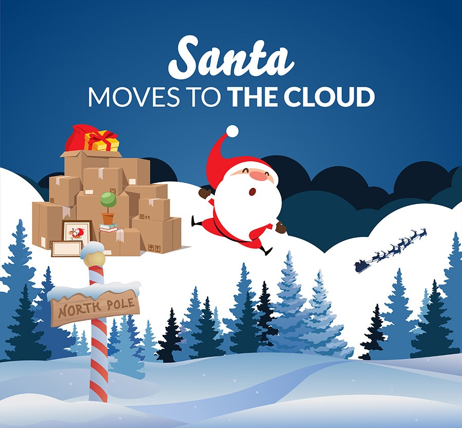 Santa Moves To The Cloud